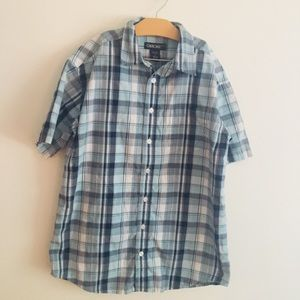 Cherokee size large 10/12 cotton button down